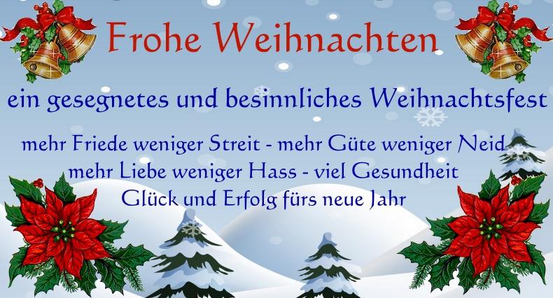 lustige und originelle Weihnachtswünsche für Freunde & Familie